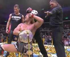 新日本プロレス内藤哲也 IWGPヘビー級王座獲得