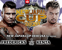 『NEW JAPAN CUP 2020 in the USA』