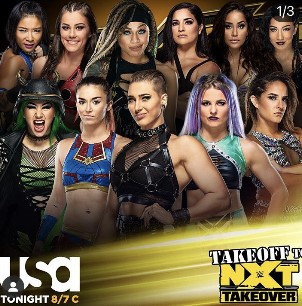 NXT女子バトルロイヤル