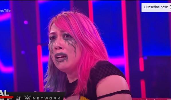 WWEアスカ、小悪魔アレクサ・ブリスと対戦
