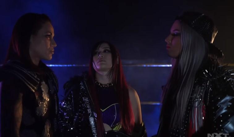 NXT女子王座トリプルスレッド