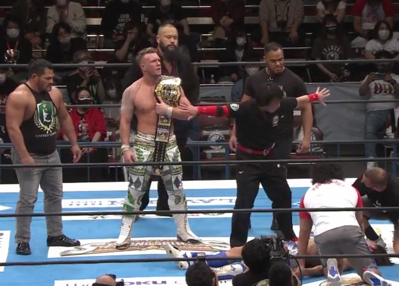 IWGP世界ヘビー級王者ウィル・オスプレイ