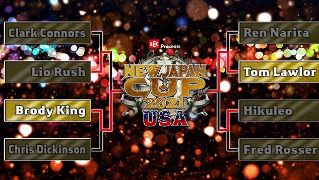 NEW JAPAN CUP USA 2021