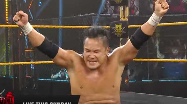 WWEクルーザー級KUSHIDA