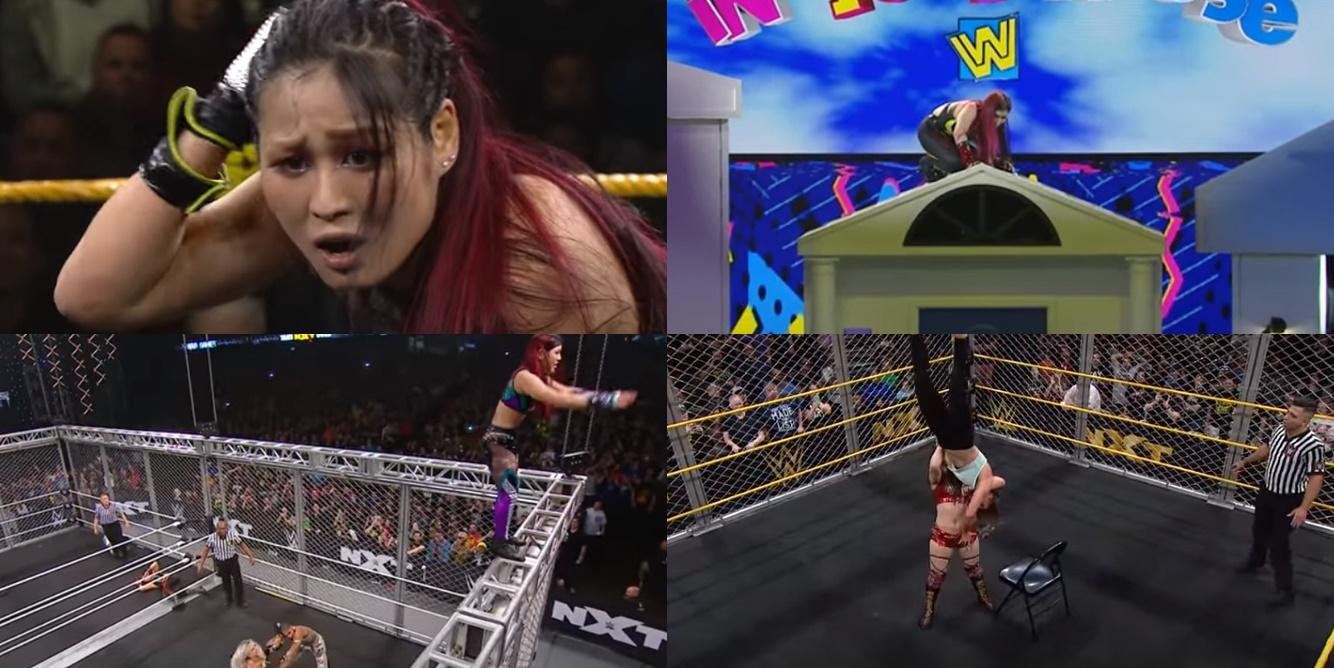 WWE紫雷イオ衝撃