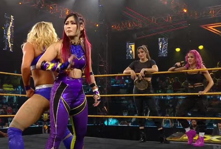 紫雷イオ WWE NXT