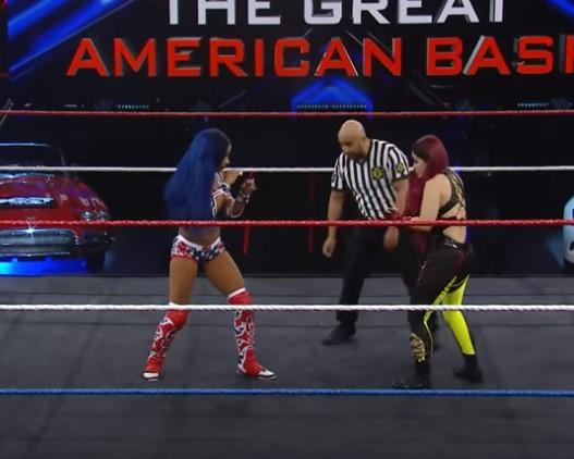 Io Shirai vs. Sasha Banks: NXT Great American Bash 2020,