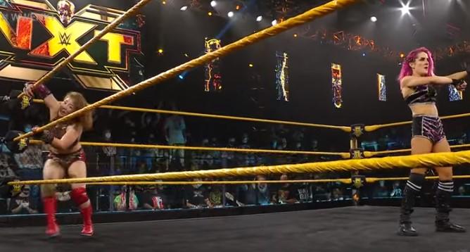 WWE女子サレイ敗戦