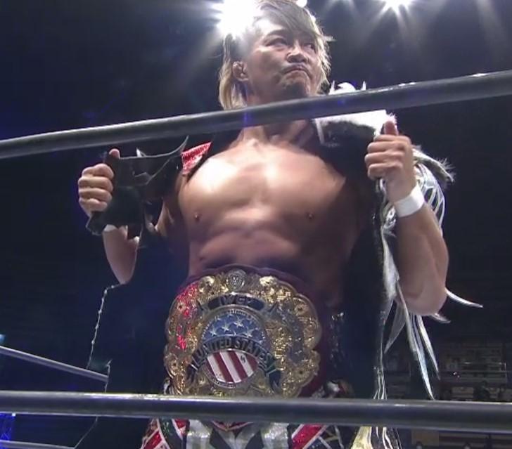 棚橋弘至初勝利。